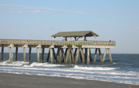 Tybee island cottages georgia vacation rental cottages for Tybee island fishing pier